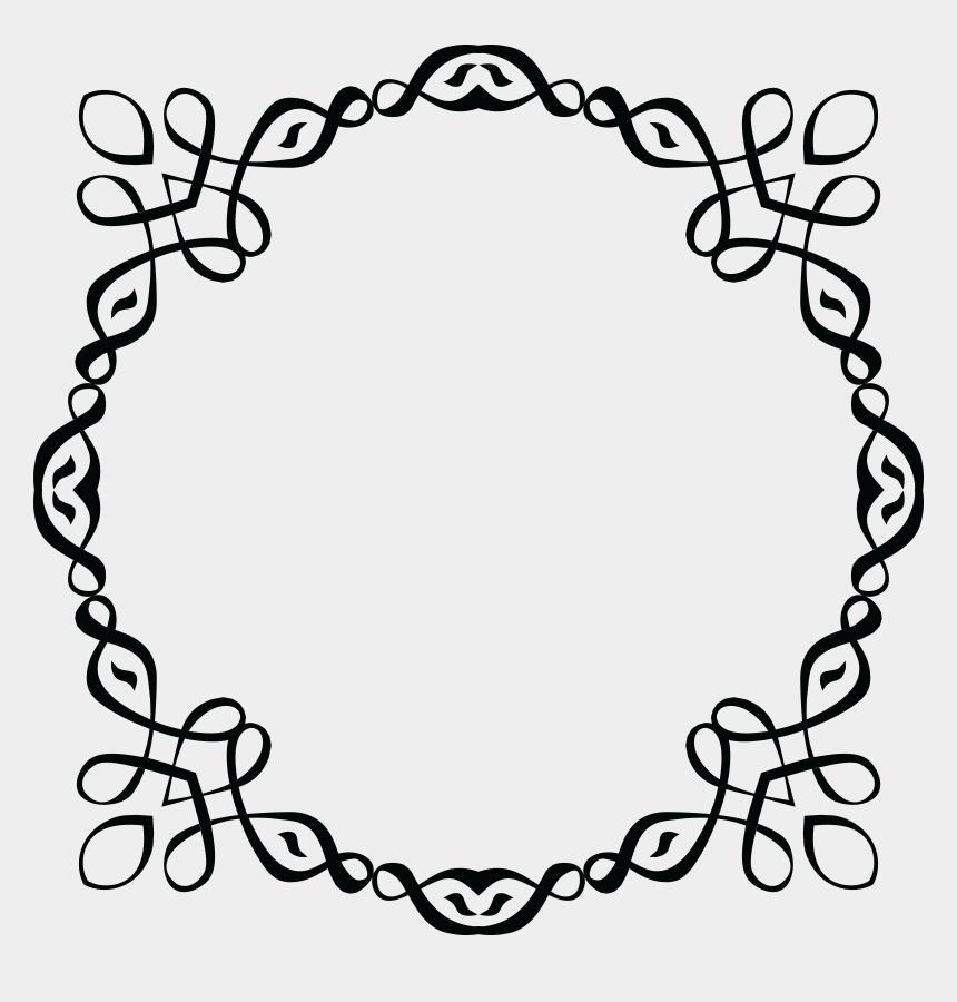 picture frame clip art, Cartoons - Frame Line Art - Invitation Border Design Download