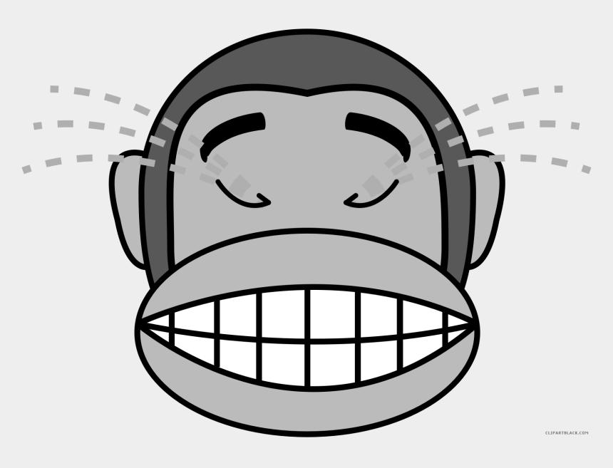 pillow clipart, Cartoons - Monkey Emojis Animal Free Black White Clipart Images - Monkey Face Emoji Png