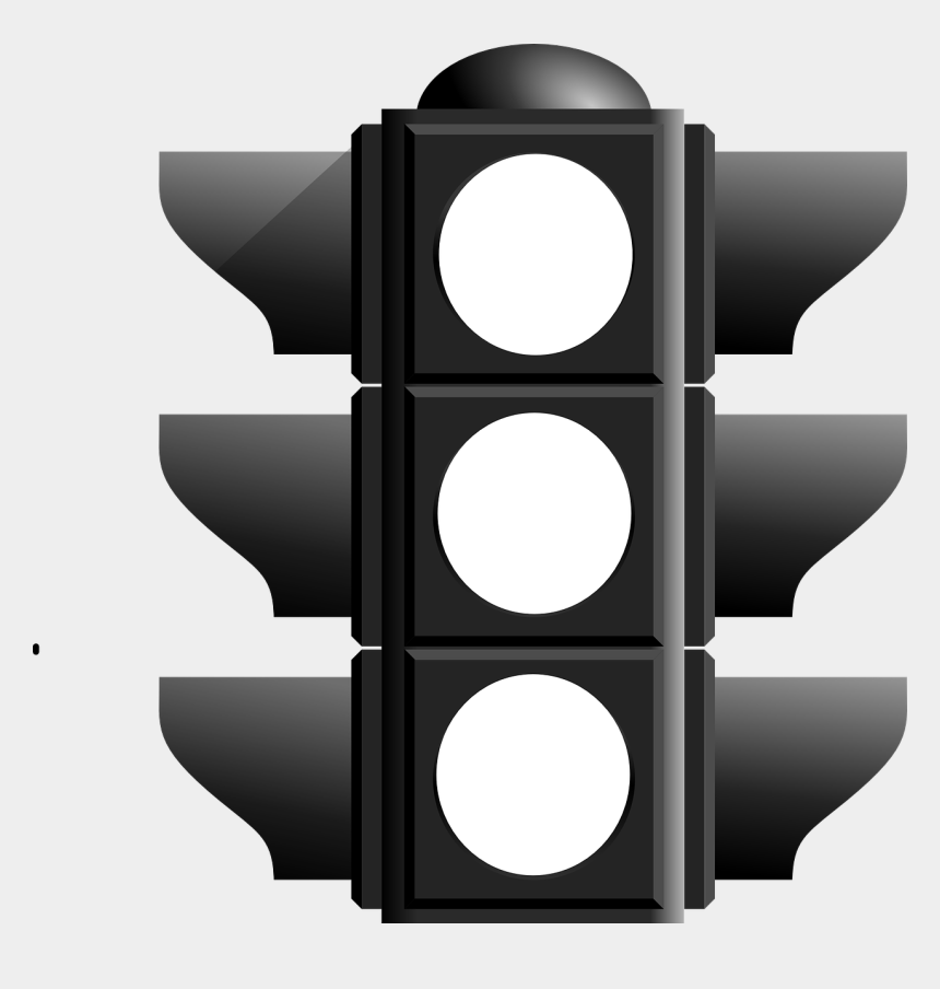 lighthouse clipart black and white, Cartoons - Stoplight Clipart Street Safety - Traffic Light Black And White