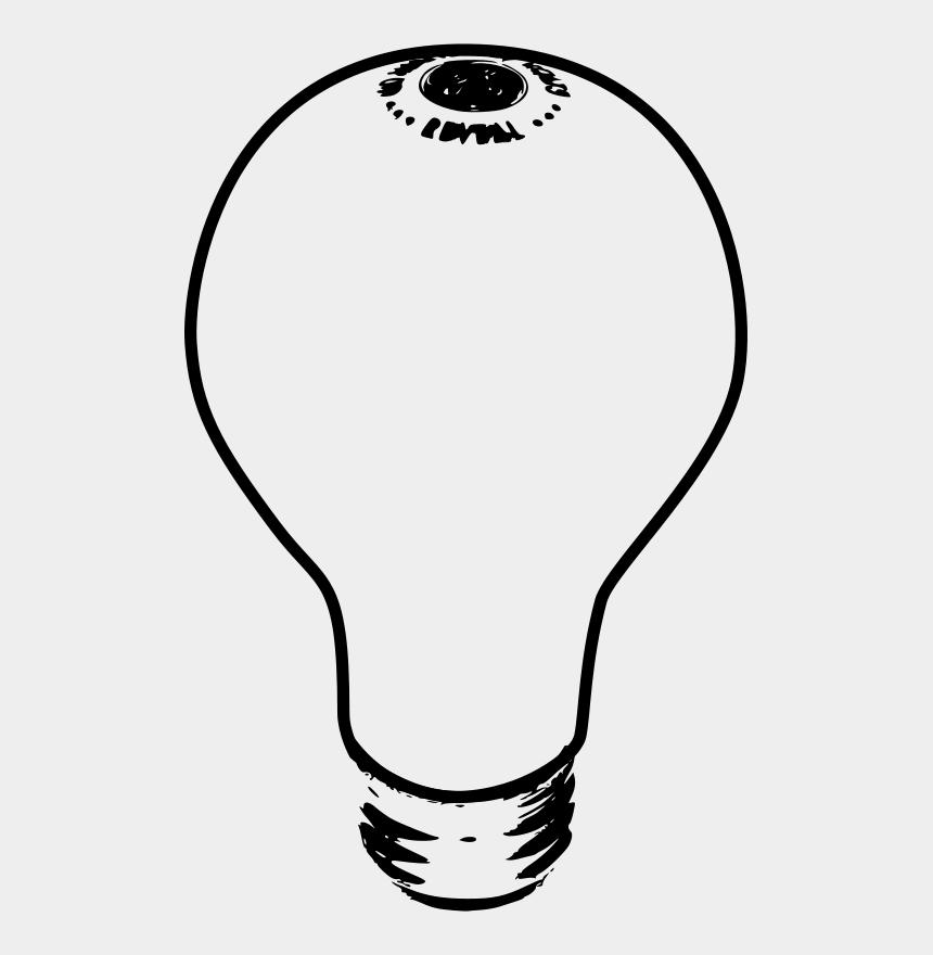 lighthouse clipart black and white, Cartoons - Lightbulb 03 Clip Art - Light Bulb Clip Art