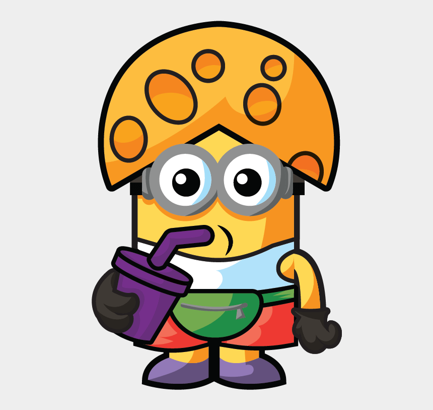 minion clipart, Cartoons - Despicable Me Mineez Moose Toys Cheddar Dave Ⓒ - Cheddar Head Dave Mineez