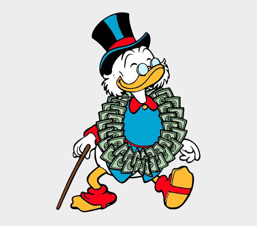 february clip art, Cartoons - Ducktales Clip Art - Scrooge Mcduck Dollar Painting
