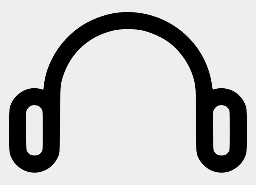 listen to music clipart, Cartoons - Headphone Handsfree Music Headphones Listening Headset - Hands Free Logo Png