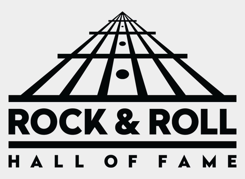 rock clipart black and white, Cartoons - The Rock & Roll Hall Of Fame Is Collaborating With - Rock N Roll Hall Of Fame