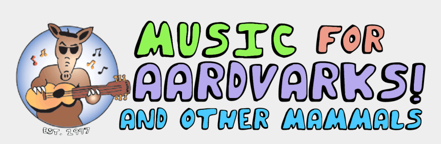 listen to music clipart, Cartoons - Make Up Clip Art - Music For Aardvarks