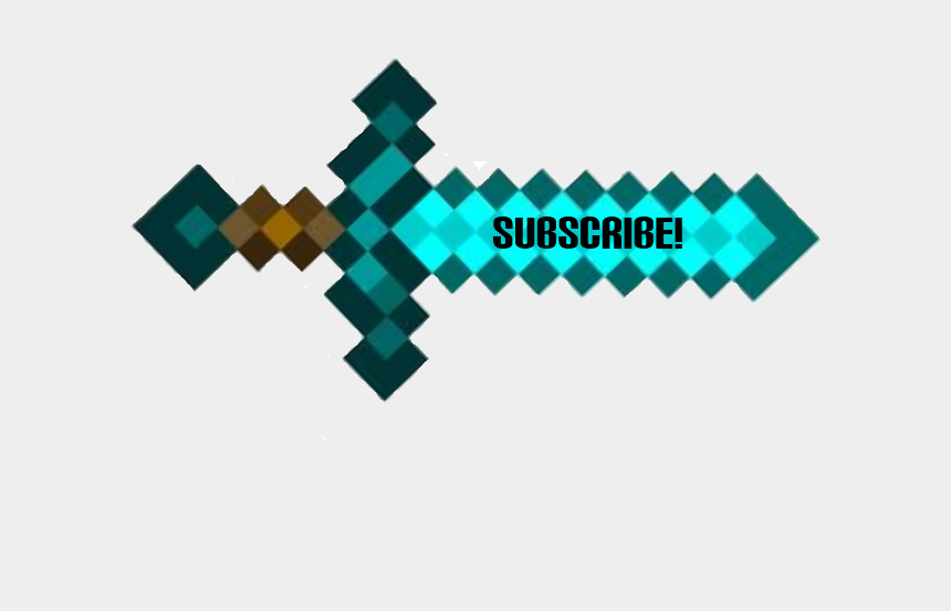 Sword Subscribe Game Master Template Video Minecraft