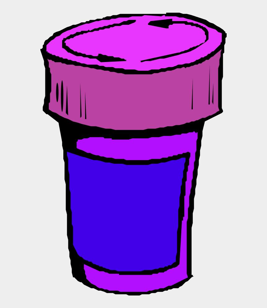 pill bottle clipart, Cartoons - A Bottle For Pills - Pills Clip Art