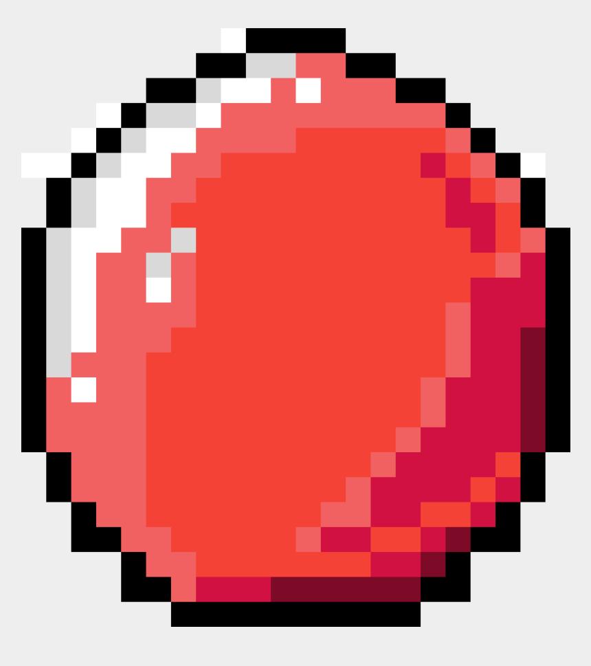 minecraft clipart, Cartoons - Eyeball Minecraft Clipart , Png Download - Pixel Art Donuts