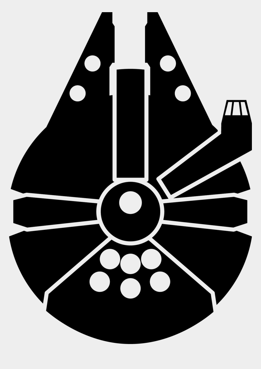 death clipart, Cartoons - Star Wars Death Free Download Huge - Star Wars Millennium Falcon Logo