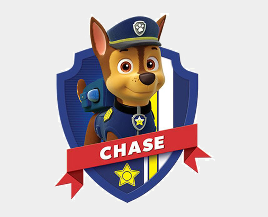 paw patrol badge clip art, Cartoons - Chase Paw Patrol Png