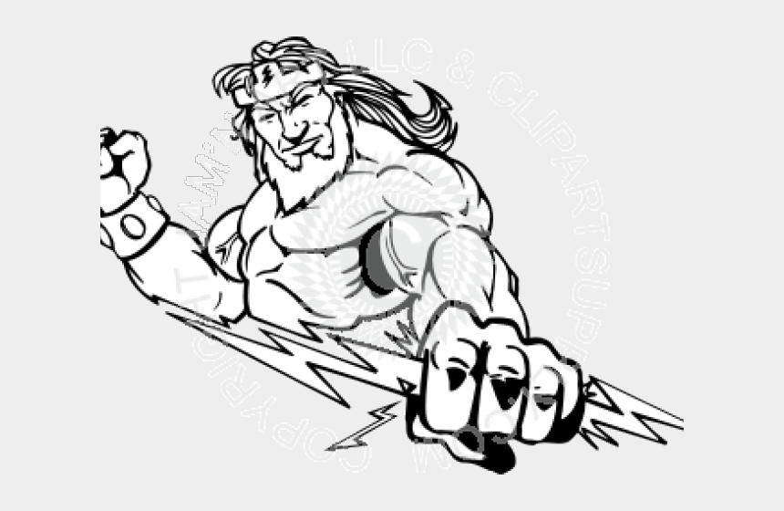 thunderstorm clipart, Cartoons - Drawn Lightning Zeus - Easy To Draw Pictures Of Zeus
