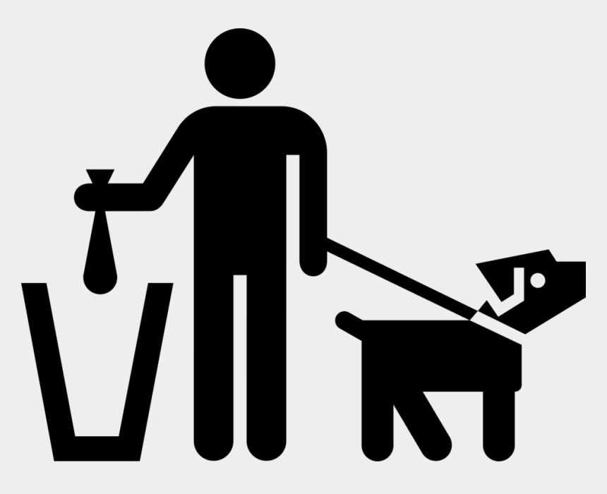 clean up clipart, Cartoons - Dog Clean Up - Clean Up After You Pet