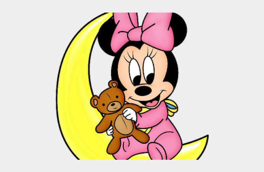 babies cliparts, Cartoons - Minnie Mouse On Moon