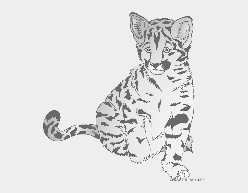 cute baby tiger clipart, Cartoons - Clipart Tiger Baby Tiger - Clipart Zoo Animals