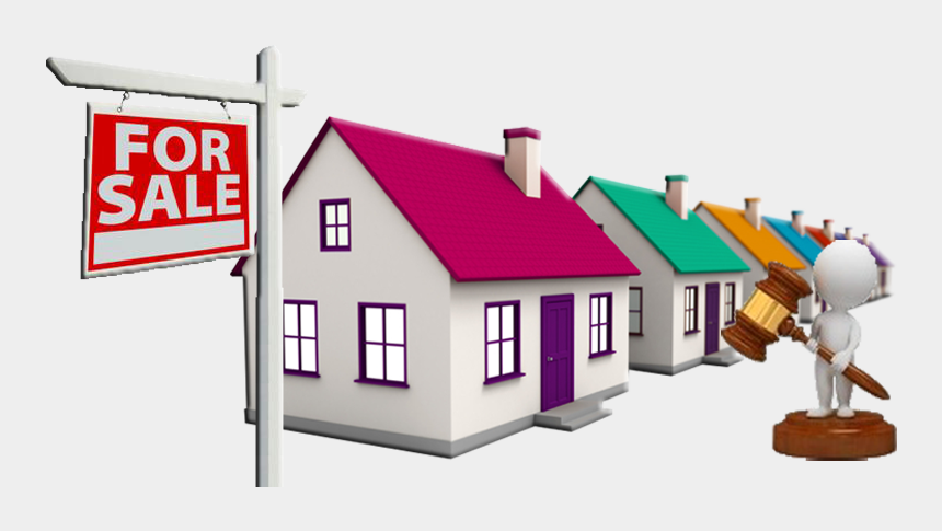 houses for sale clipart, Cartoons - Auction Clipart Auction House - Property Auctions