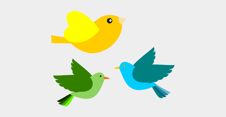 Clipart Of Ave, Unlimited And Colorful Bird - Clipart Flying