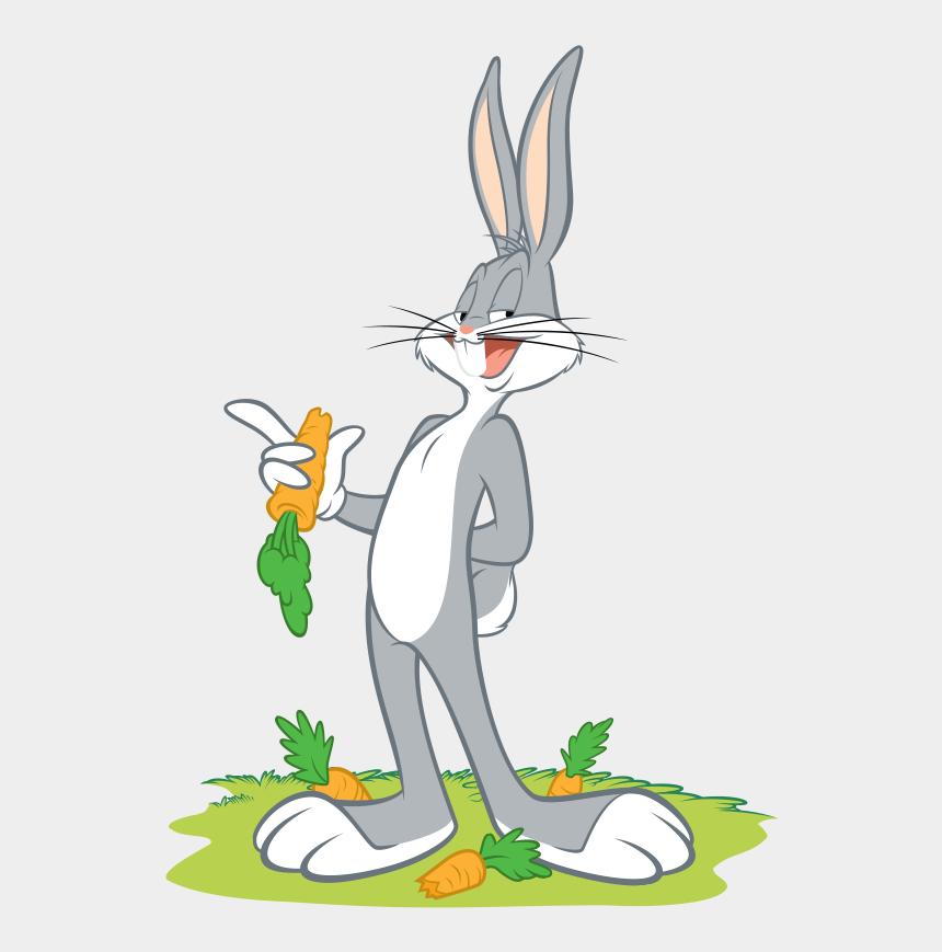 bug bunny clipart, Cartoons - Cuddling Clipart Three Rabbit - Bad Bunny Looney Tunes