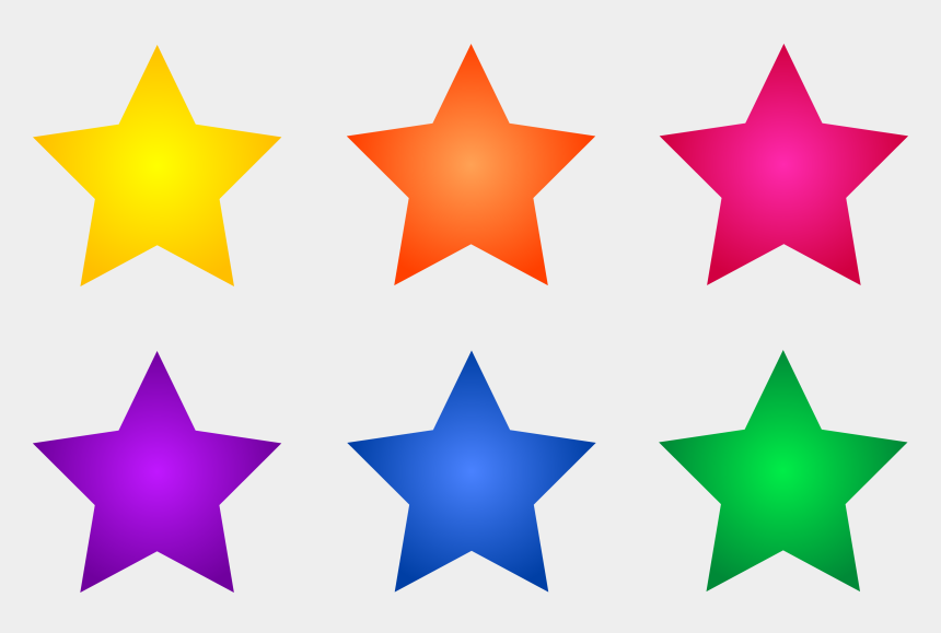 starts clipart, Cartoons - Clipart Of Download, Star And Stars - Clip Art Colored Stars