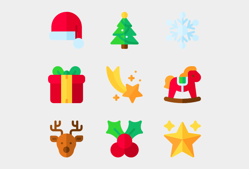 christmas dividers clipart, Cartoons - Page Vector Christmas - Christmas Icon Design Png