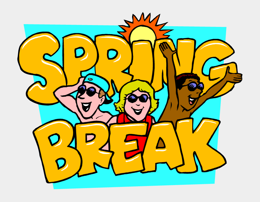 spring break clipart images, Cartoons - Clipart School Spring Break - Spring Break Clipart