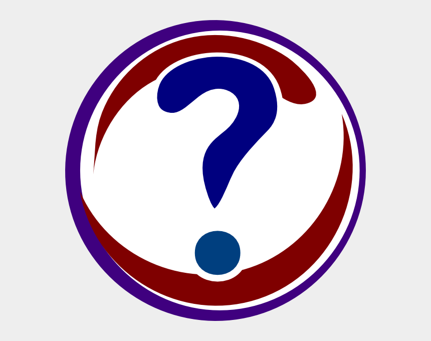 red question mark clipart, Cartoons - Red And Blue Question Mark Png