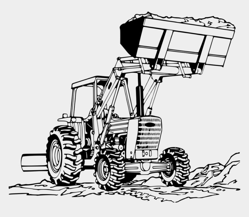 john deer tractor clipart, Cartoons - John Deere Loader Tractor Caterpillar Inc - Front End Loader Drawing
