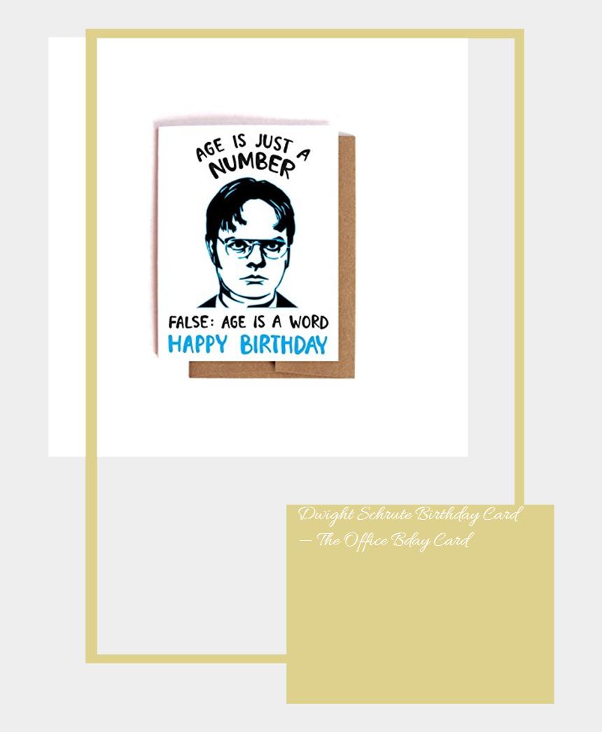 office birthday clipart, Cartoons - Dwight Schrute Birthday Card The Office Bday Card - Office Birthday Card Printable