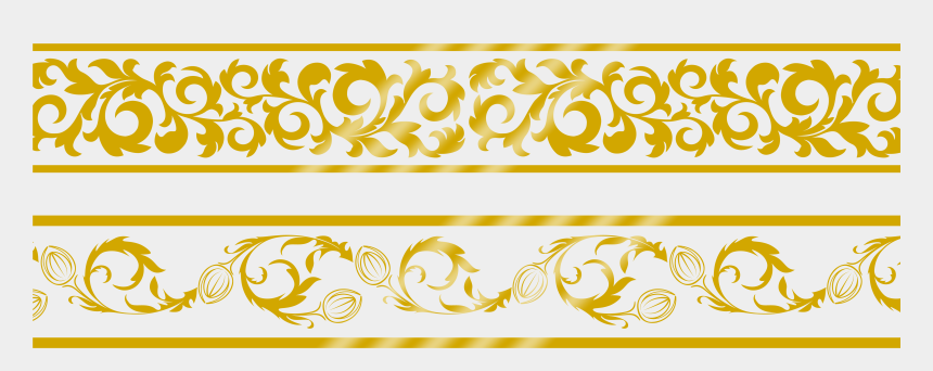 gold lace clipart, Cartoons - Border Gold Png - Lace Golden Border Png