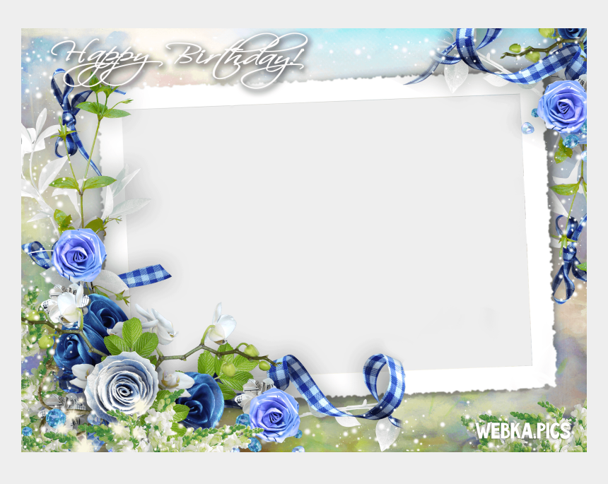 happy birthday frame clipart, Cartoons - Birthday Frames - Happy Birthday Frames Png
