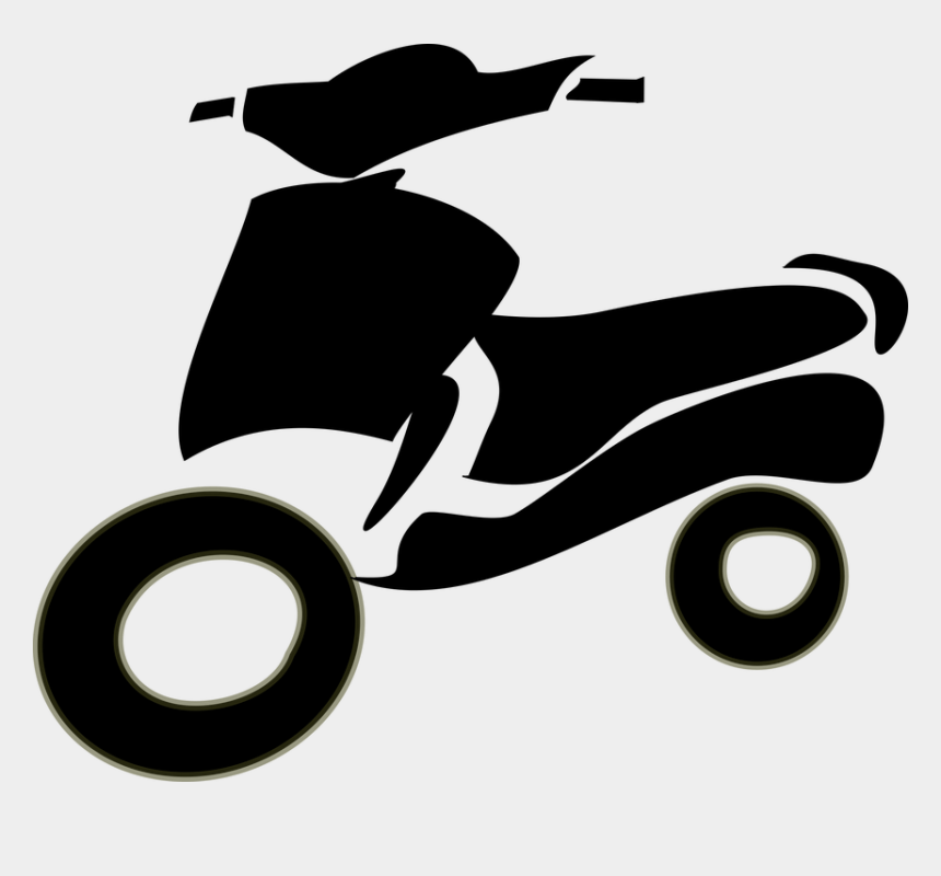 turkey on a motorcycle clipart, Cartoons - Vespa, Moto, Motorbike, Travel, Italy - Two Wheeler Clipart Png