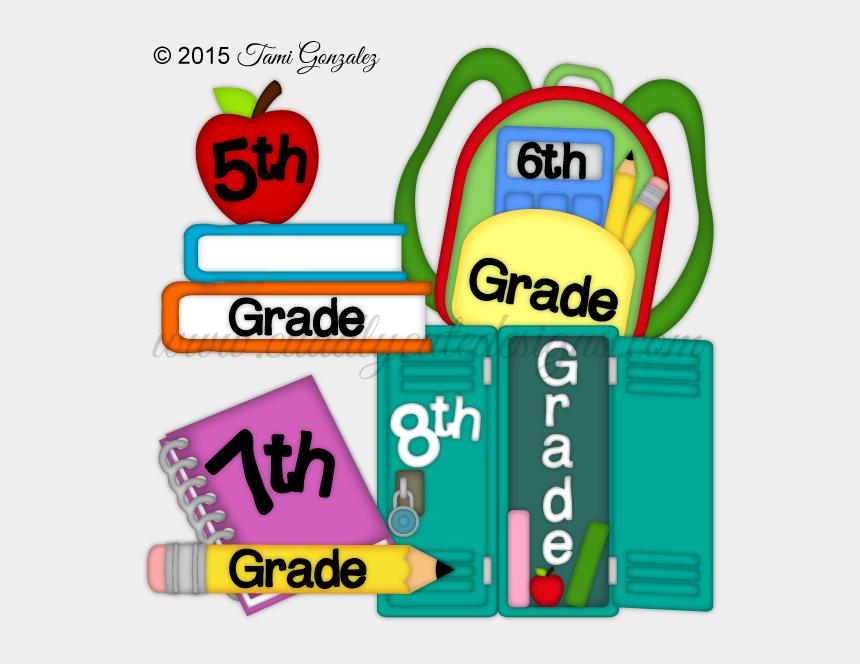 middle school graduation clipart, Cartoons - Middle School Titles