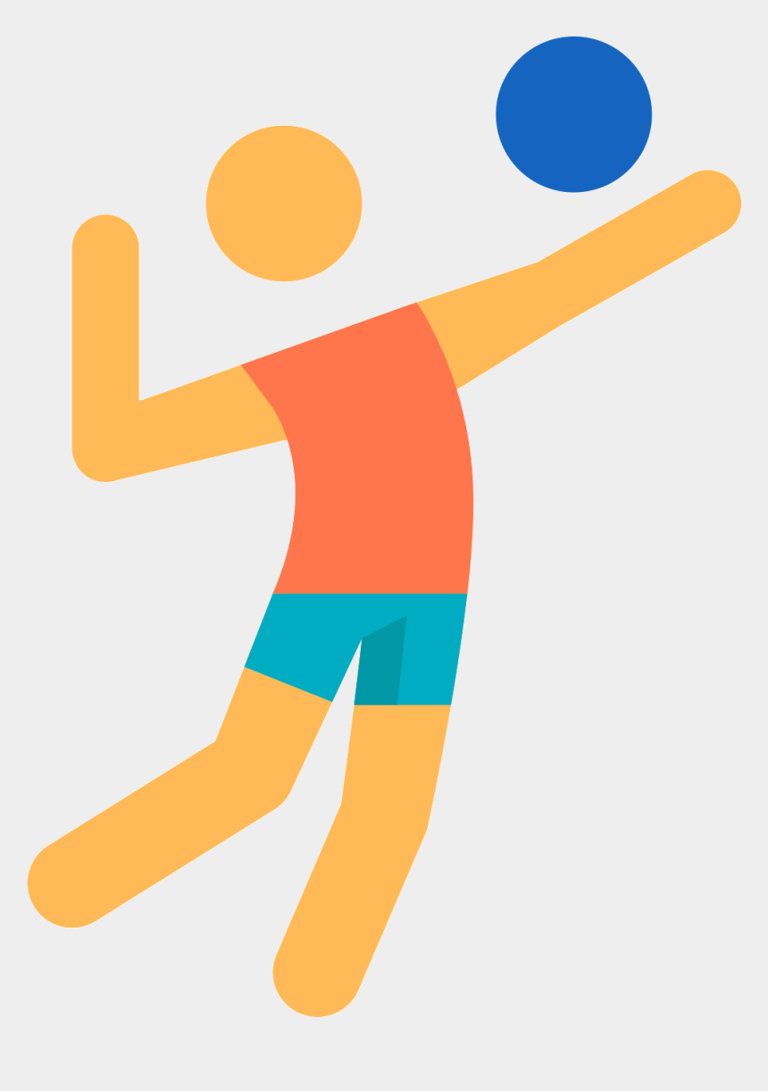 beach volleyball net clipart, Cartoons - Beach Sport Icon Transprent Png Free Download Ⓒ - Volleyball Player Icon Png
