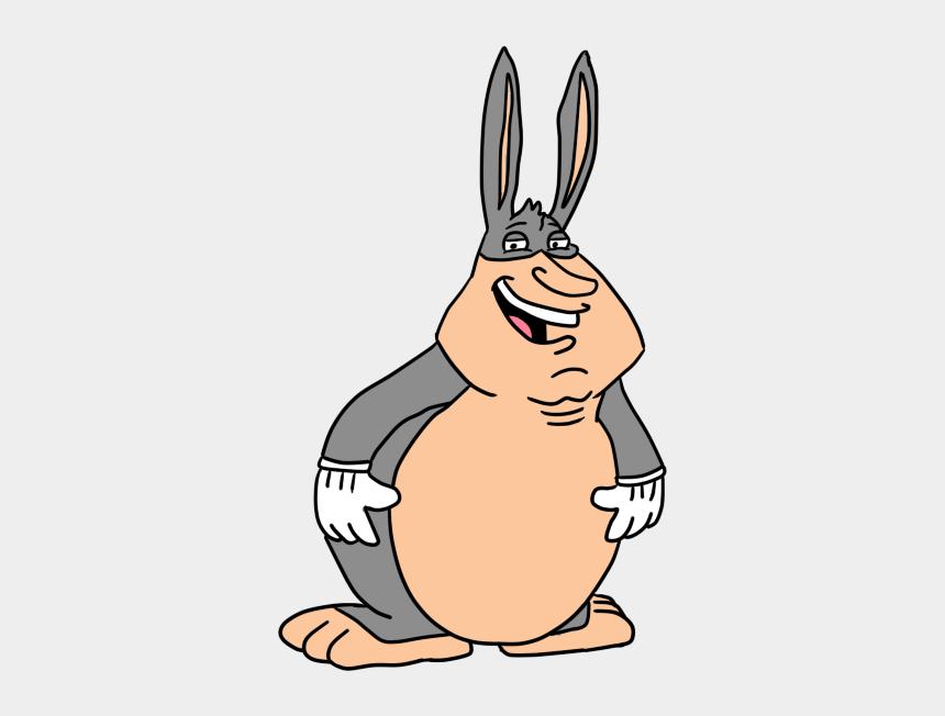 thin man clipart, Cartoons - Big Chungus Clipart Thin - Big Chungus Coloring Page