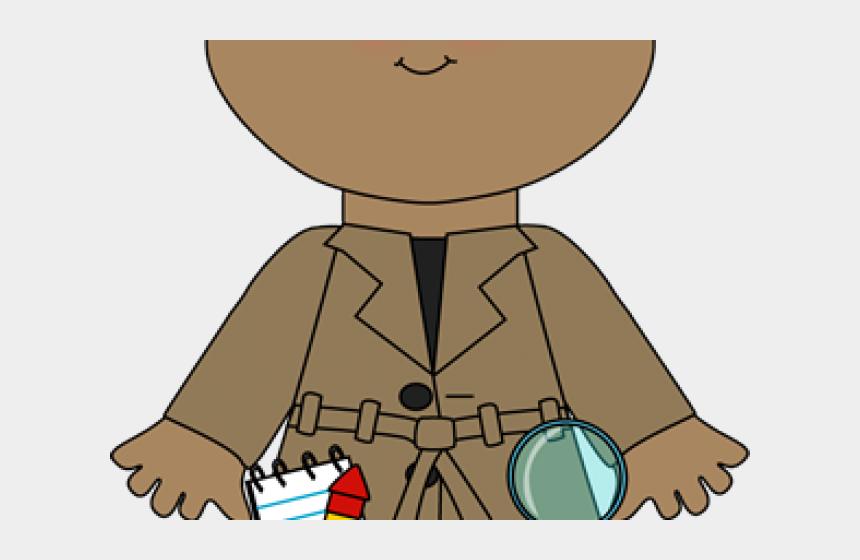 boy detective clipart, Cartoons - Boy Detective Clipart