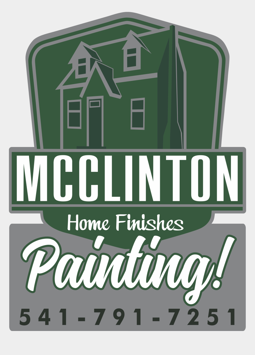 house painter clipart free, Cartoons - Mcclinton Home Finishes - Sign