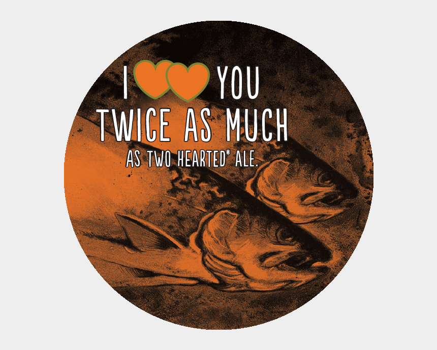 two become one clipart, Cartoons - Double Two Hearted Small - Bell's Two Hearted Ale