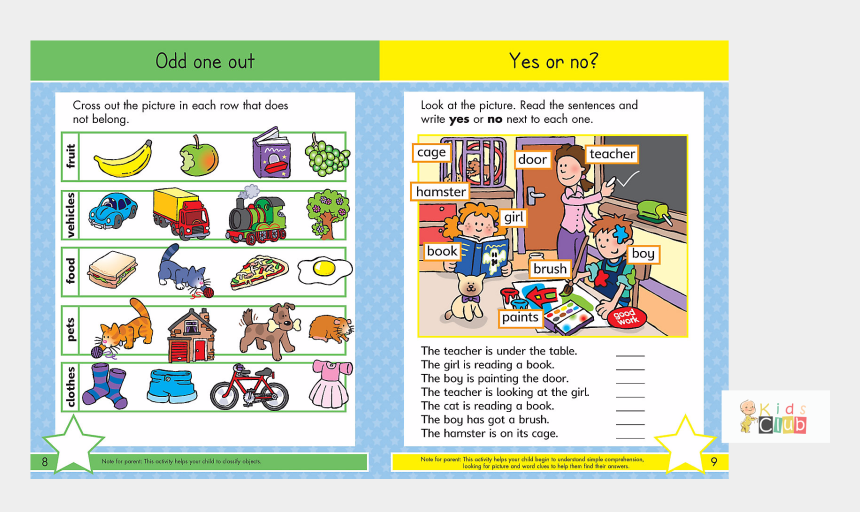 stars in a row clipart, Cartoons - English Clipart Row Book - Gold Stars Ready For School Big Workbook