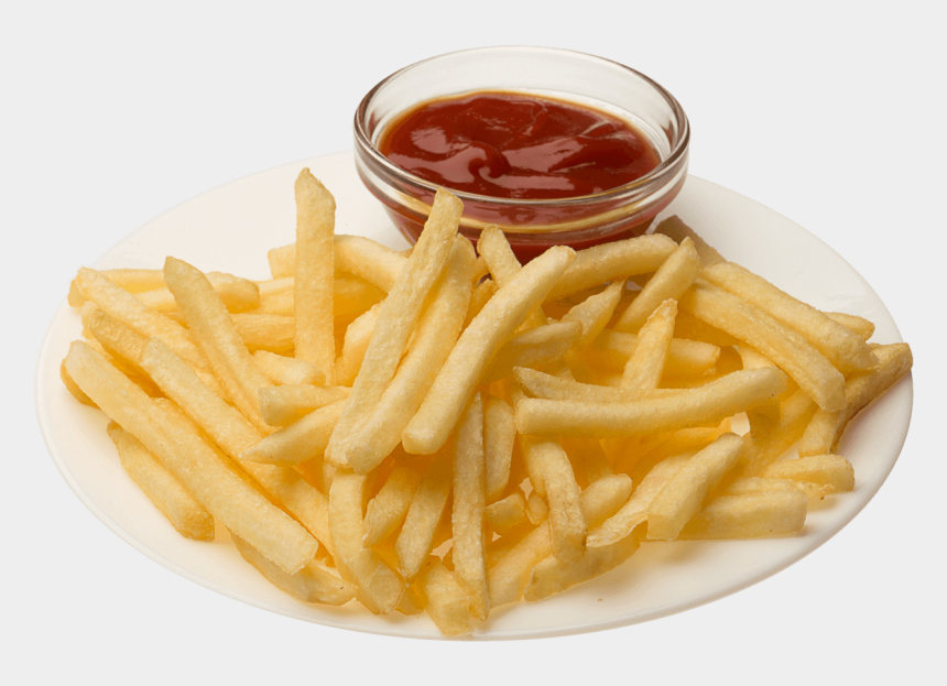 clipart of french fries, Cartoons - Steak Fries Ketchup Png - French Fries Plate Png