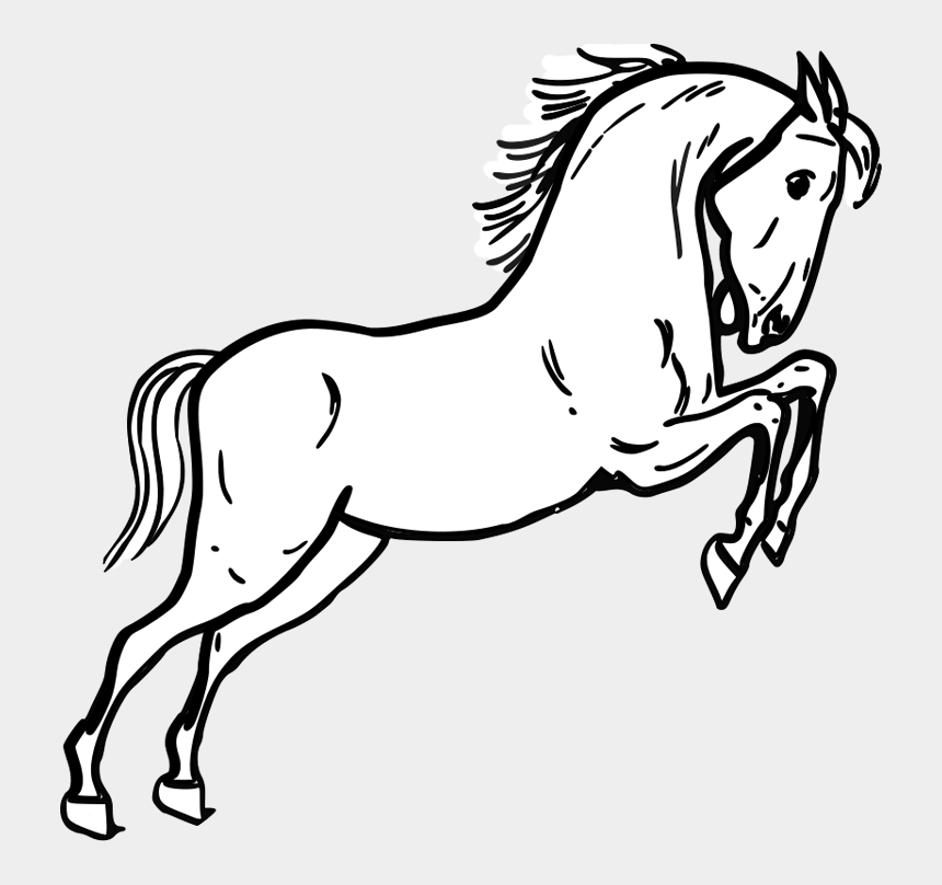 horse eating clipart, Cartoons - Horse Coloring Pages - Horse Outline For Coloring