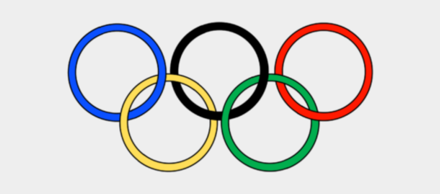 olympic ring clipart free, Cartoons - Medal Clipart Olympic Event - Transparent Olympic Rings