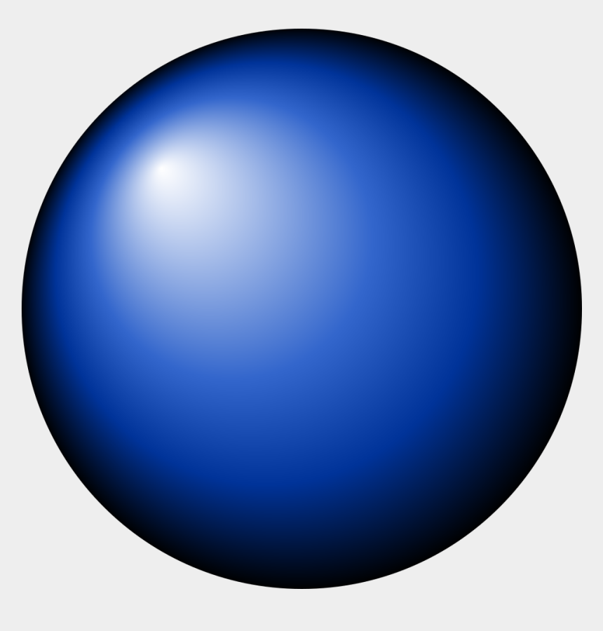 blinking clipart, Cartoons - Sphere Clipart Blue Sphere - Blue Dot Png Transparent