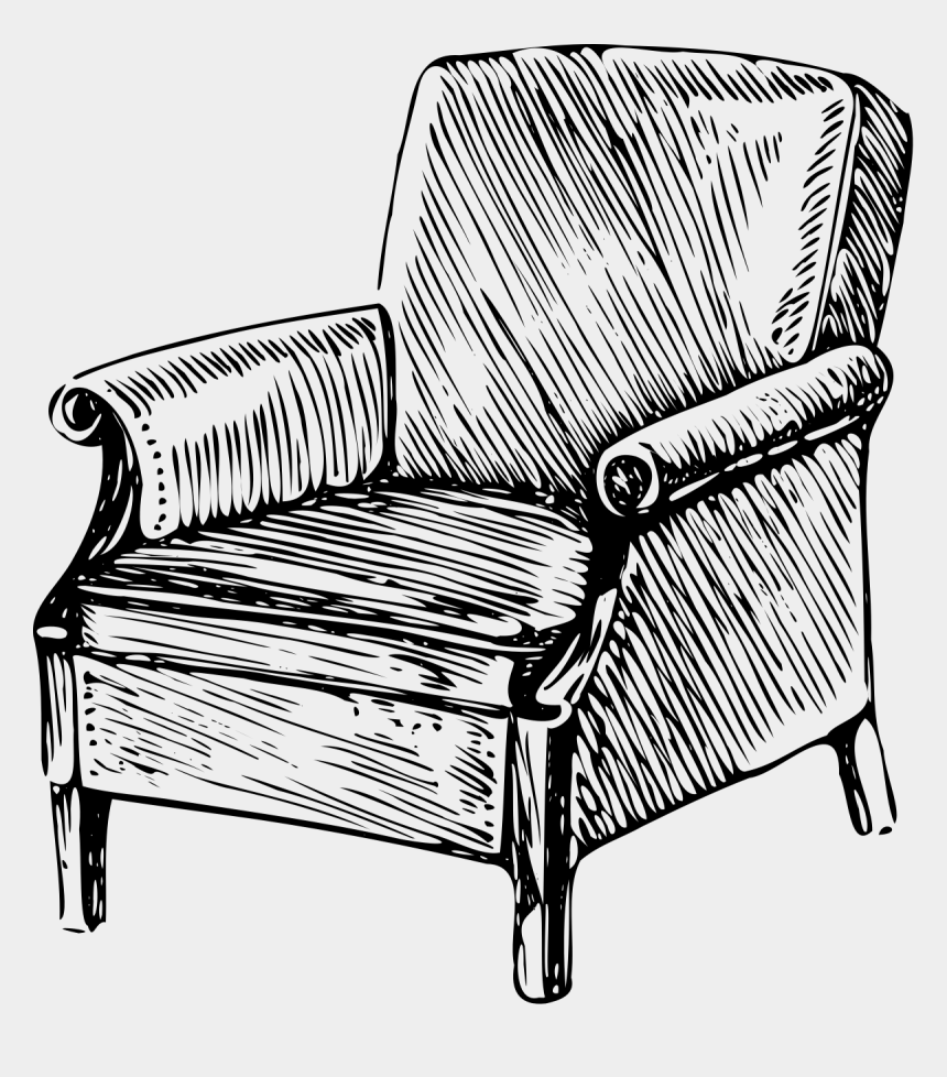 patio furniture clipart, Cartoons - Armchair Drawing Arm Chair - Chair Drawing