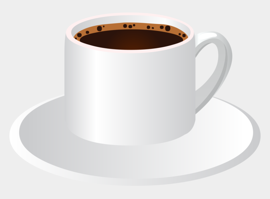 drink coffee clipart, Cartoons - Drink Coffee - Cup & Saucer With Coffee
