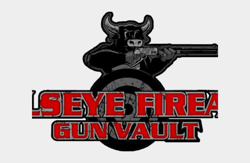 grove clipart, Cartoons - Bullseye Gun Vault - Gun Barrel