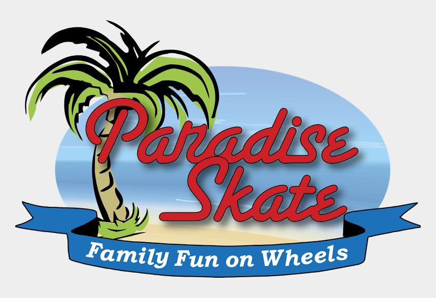roller rink clipart, Cartoons - Paradise Skate