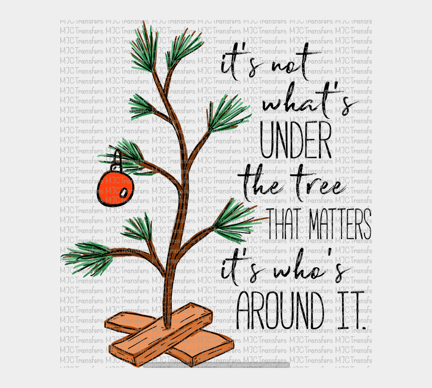charlie brown easter clipart, Cartoons - Charlie Brown Tree With Quote - Charlie Brown Tree Quote