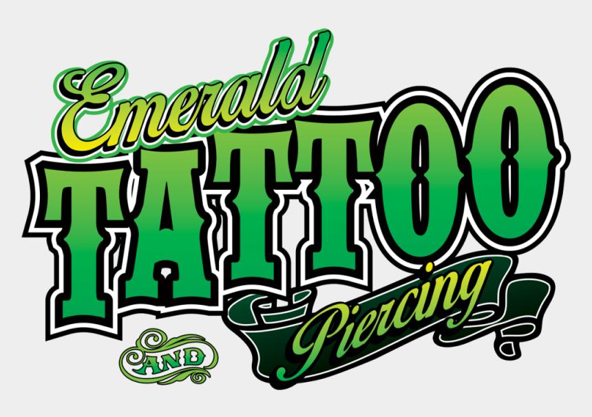 tattoo parlor clipart, Cartoons - Emerald Tattoo Modesto