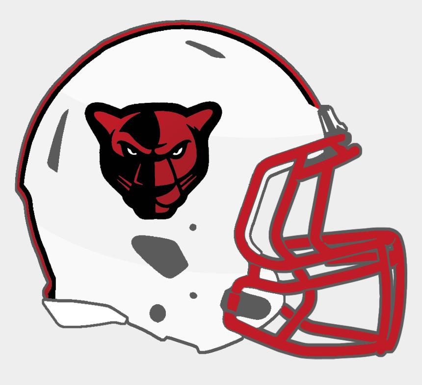 red football helmet clipart, Cartoons - Pearl Pirates - Petal Panthers Football Team