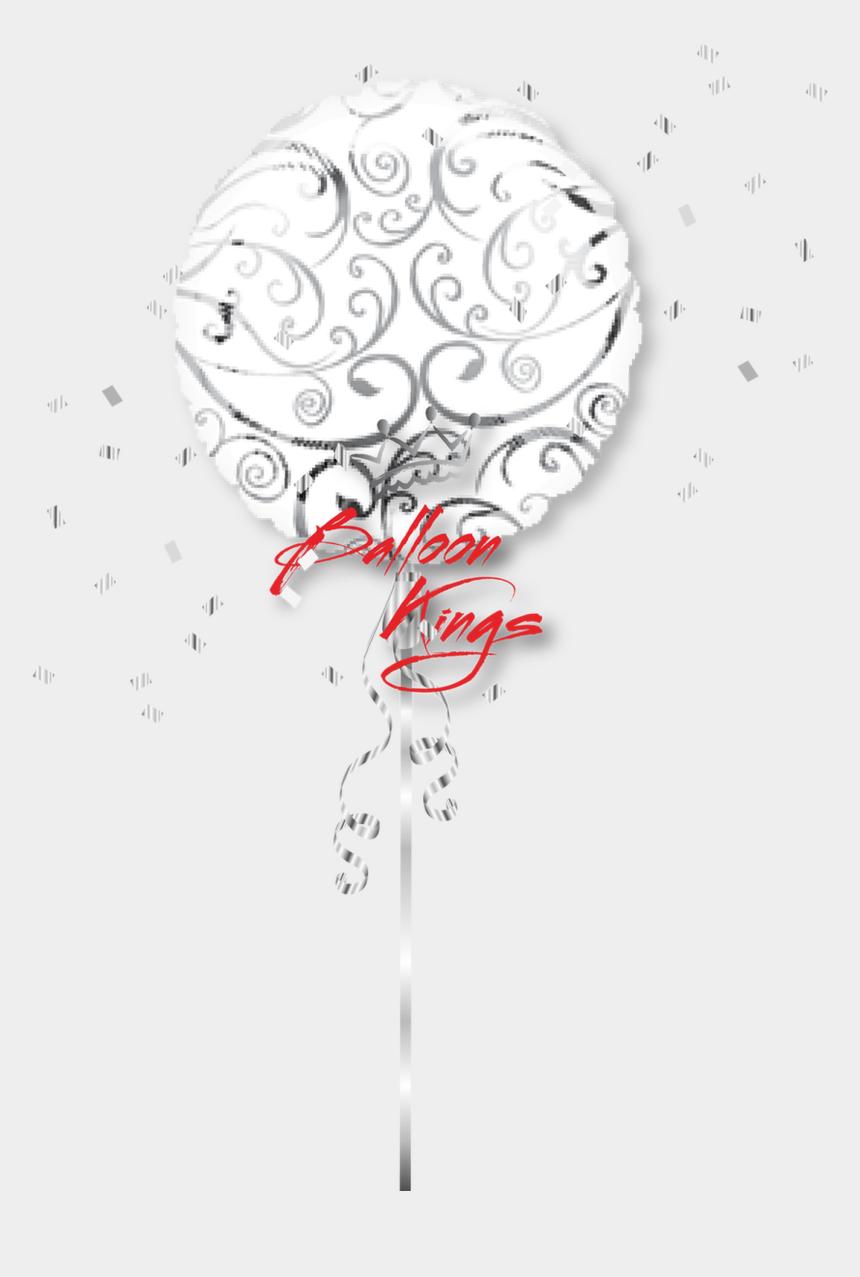 swirls and stars clipart, Cartoons - Silver Swirls Designer - Get Well Soon