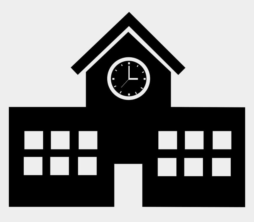 school building clipart free, Cartoons - School Building Icon Png